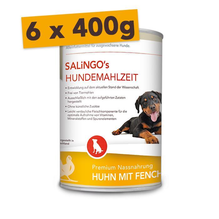 Huhn mit Fenchel & Reis - Mengeneinheit: 6 x 400g