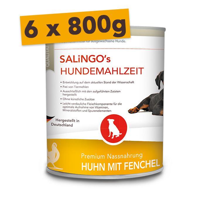 Huhn mit Fenchel & Reis - Mengeneinheit: 6 x 800g